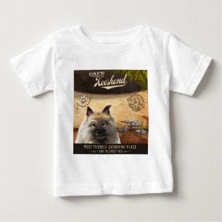 カフェのKeeshond ベビーTシャツ