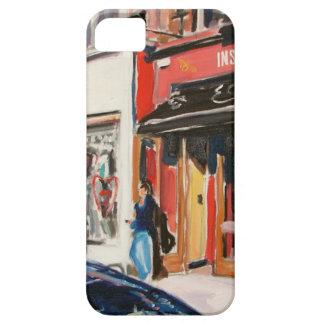 カフェのstephens緑のダブリン iPhone SE/5/5s ケース