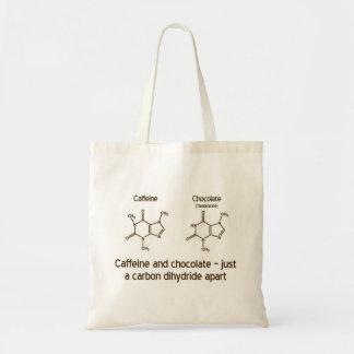 カフェインおよびチョコレート トートバッグ