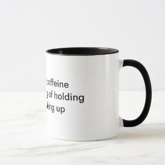 カフェインの俳句のマグ マグカップ