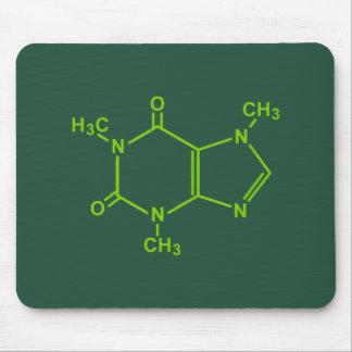 カフェインの分子 マウスパッド