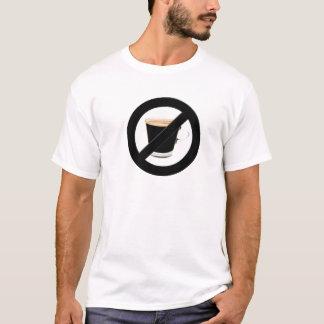 カフェインの自由地帯のTシャツ Tシャツ