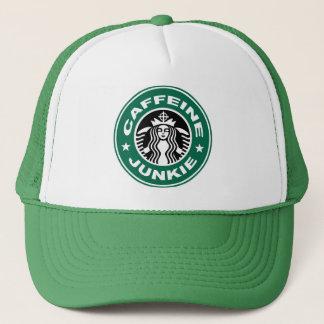 カフェインの麻薬常習者の帽子 キャップ