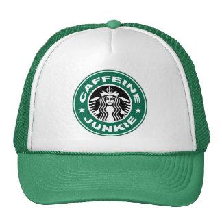 カフェインの麻薬常習者の帽子 帽子
