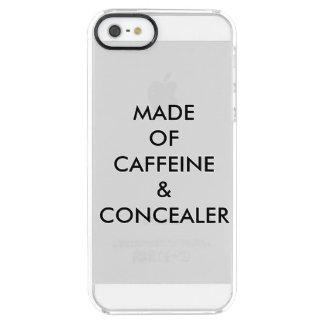 カフェイン及びCONCEALERの作られる クリア iPhone SE/5/5sケース