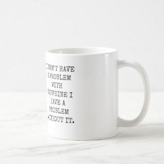 カフェイン問題 コーヒーマグカップ