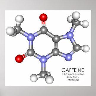 カフェイン-コーヒー ポスター