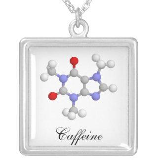カフェイン シルバープレートネックレス