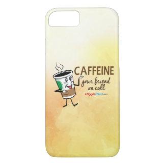 カフェイン、呼出しのあなたの友人 iPhone 8/7ケース