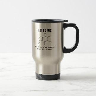 カフェイン: 唯一の方法科学によってはマグがやり終えます トラベルマグ