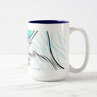 カフェインGryphon ツートーンマグカップ