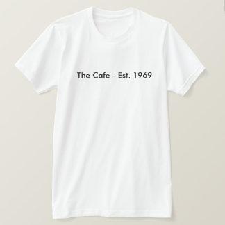 カフェ-米国東部標準時刻。 1969年 Tシャツ