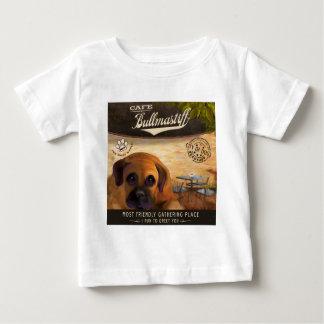 カフェBullmastiff ベビーTシャツ