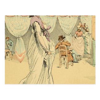 カフェde Tuileries 1898年のアポイントメント ポストカード