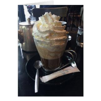 カフェViennois -ウィップクリーム|パリの多く カード