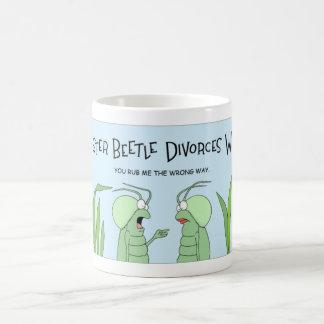 カブトムシは離婚を得ます コーヒーマグカップ