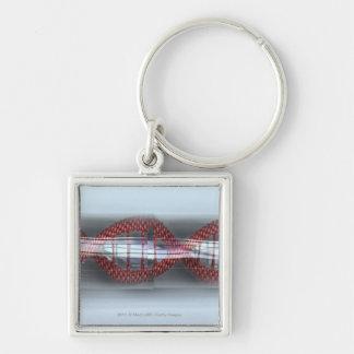 カプセルのDNAの繊維 キーホルダー