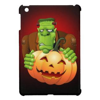 カボチャが付いているフランケンシュタインモンスターの漫画 iPad MINIケース