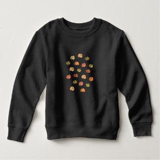 カボチャが付いている幼児のスエットシャツ スウェットシャツ