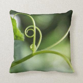 カボチャつる植物の枕 クッション