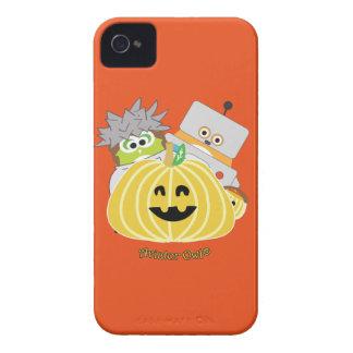 カボチャの後ろの碧玉そしてケビン Case-Mate iPhone 4 ケース
