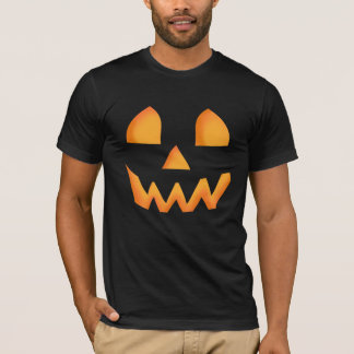 カボチャの白熱ハロウィン Tシャツ