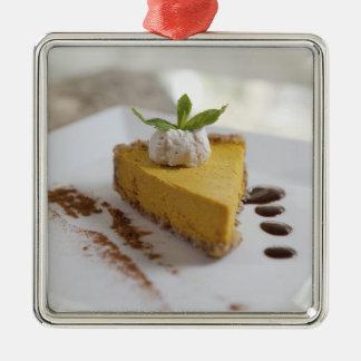 カボチャチーズケーキ メタルオーナメント