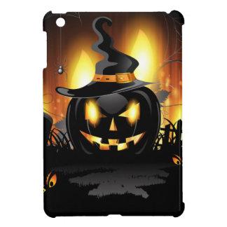 カボチャハロウィンの黒いiPad Miniケース iPad Miniケース