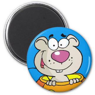 カボチャパッチのベビーのラットかマウス マグネット