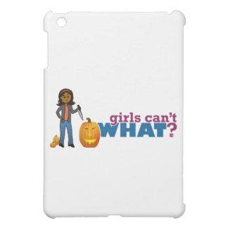 カボチャ女の子を切り分けること iPad MINIケース