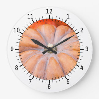 カボチャ季節 ラージ壁時計
