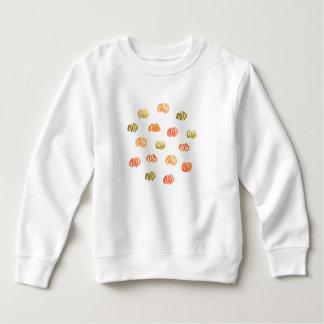カボチャ幼児のスエットシャツ スウェットシャツ