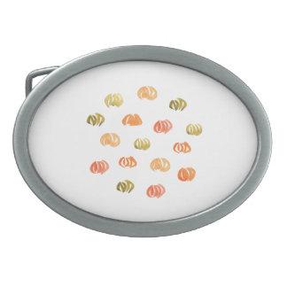 カボチャ楕円形のベルトの留め金 卵形バックル
