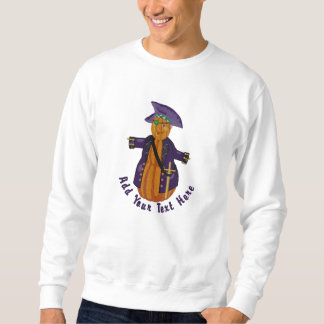 カボチャ海賊 刺繍入りスウェットシャツ