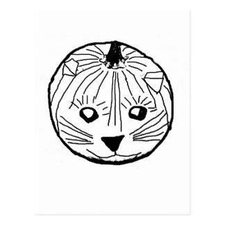 カボチャ猫 ポストカード