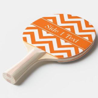 カボチャ白いシェブロンのカボチャ一流のモノグラム 卓球ラケット