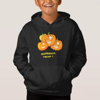 カボチャ石-男の子のスエットシャツ
