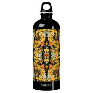 カボチャ、南瓜およびひょうたん-抽象芸術 ウォーターボトル