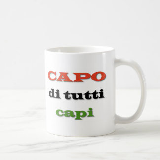 カポかボス コーヒーマグカップ