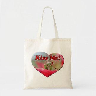 カマキリを祈っている私に接吻して下さい トートバッグ