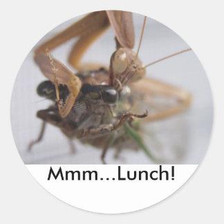 カマキリMmmの…昼食を祈ること! ラウンドシール