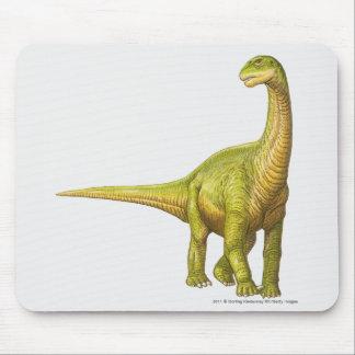 カマラサウルスのイラストレーション マウスパッド