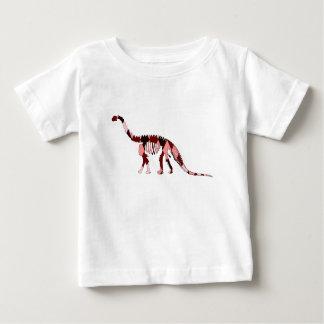 カマラサウルスの骨組 ベビーTシャツ