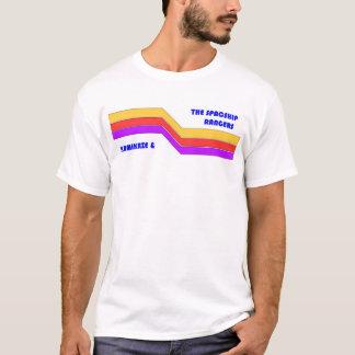 カミカゼおよび宇宙船のレーンジャー Tシャツ