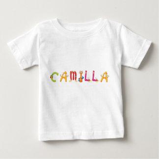 カミラのベビーのTシャツ ベビーTシャツ