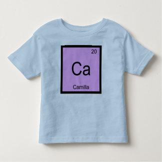 カミラ一流化学要素の周期表 トドラーTシャツ