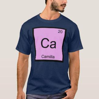 カミラ一流化学要素の周期表 Tシャツ