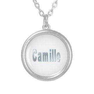 カミーユのネックレス シルバープレートネックレス