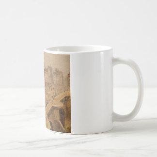 カミーユ・ピサロ著Pont Neufの霧 コーヒーマグカップ