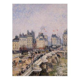 カミーユ・ピサロ著Pont Neuf 2 ポストカード